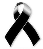in silenzio, devastati dall'immane tragedia